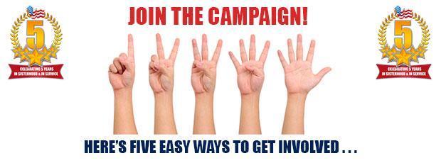 involved campaign campaigns