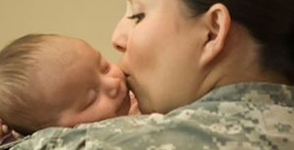 Supporting Military Moms & Military Children