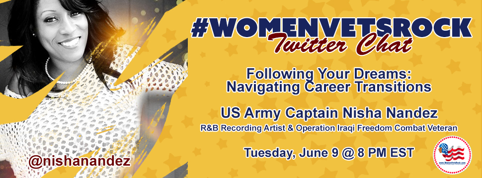 Twitter Chat ft. Captain Nisha Nandez