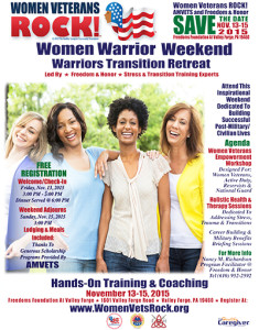 AMVETS Women Warrior Weekend
