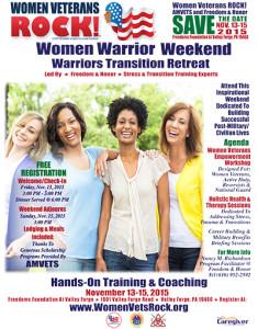 AMVETS Women Warrior Weekend