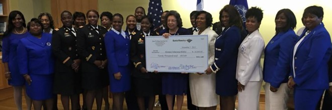 Zeta Phi Beta Sorority, Inc. Donates $23,000 to Women Vets ROCK