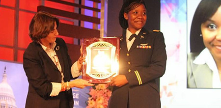 Women Veterans ROCK Names Demetria Elosiebo 2016 Honoree of the Year