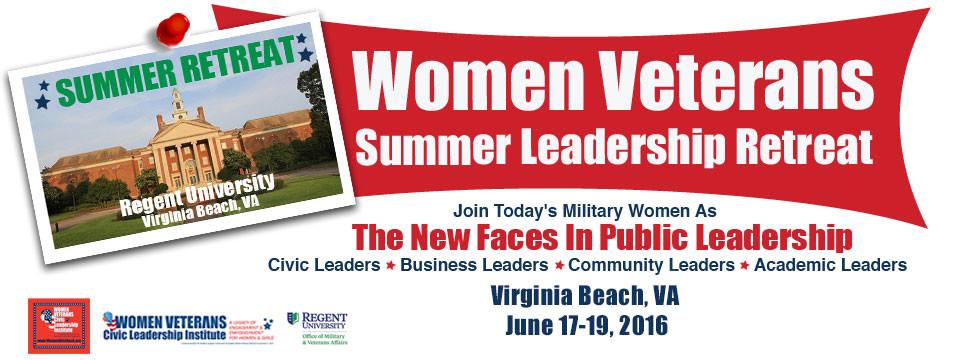 Women Veterans Summer Leadership Retreat