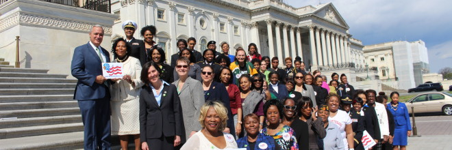 Women Veterans Making History, March 2016 Public Policy Day On Capitol Hill
