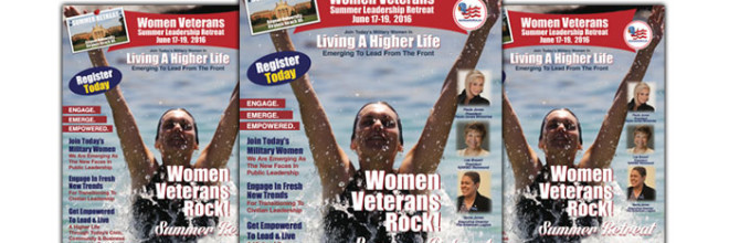 The 2016 Women Veterans Summer Leadership Retreat – Virginia Beach, VA.   Join Us On June 17-19, 2016!