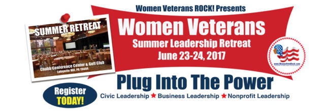 Women Veterans ROCK! Summer Retreat
