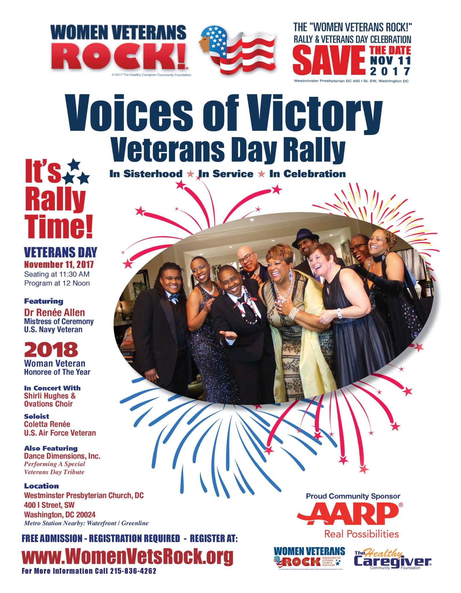 vets day Voice of Victory 2017
