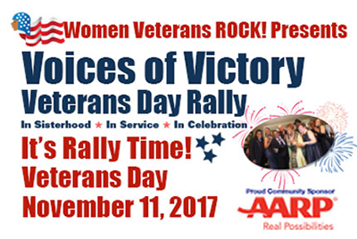 It's Rally Time! In Washington, DC on Veterans Day, November 11, 2017