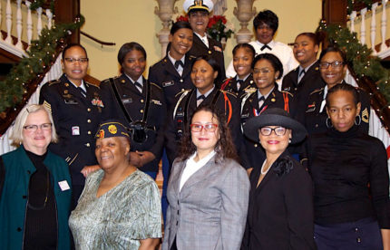 The 2017 Graduating Class of The Women Veterans Civic Leadership Institute